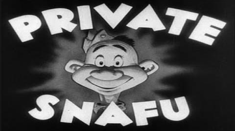 Private Snafu - A Lecture On Camouflage (1944)