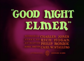 Good Night Elmer