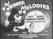 Merrie Melodies title with Foxy (1)