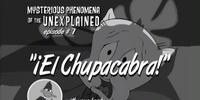 El Chupacabra!