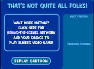 The Matwix Ending Screen