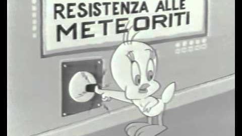 Carosello - De Rica - SILVESTRO gatto maldestro - Silvestro astronauta