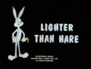 Lt lighter than hare tbbrrs fs