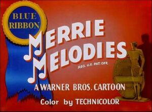 Blue Ribbon Merrie Melodies