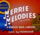 List of Warner Bros. cartoons with Blue Ribbon reissues