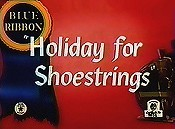 Holiday shoestrings