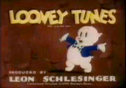Looney Tunes logo (Porky's Poppa)