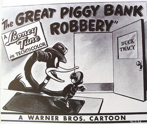 The Great Piggy Bank Robbery Lobby Card