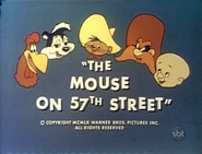 The Mouse on 57th Street TV Titles