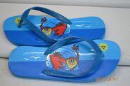 TAZ Flip Flops Looney Tunes Blue Surfing