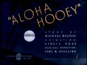 Aloha Hooey Remastered TC