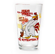 Foghorn Leghorn Pint Glass
