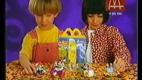 McDonald's Happy Meal Animaniacs -Reklam 1993