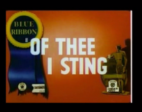 Of Thee I Sting
