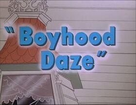 Boyhood Daze