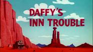 Daffy's Inn Trouble Title Card