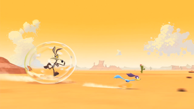 File:Wile E. Coyote and Road Runner (Bubble Trouble).png