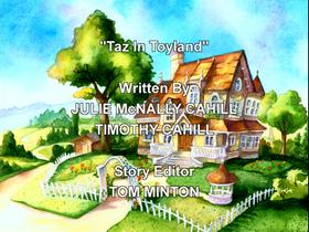 Taz in Toyland