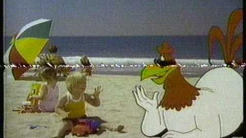 1981 Oscar Mayer Wiener Hot Dog commercial. Featuring Foghorn Leghorn.