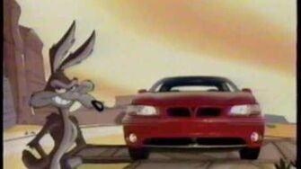 1998 Pontiac Wide Track Looney Tunes commercial