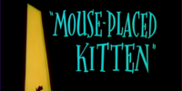 Mouse-Placed Kitten