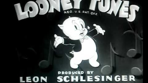 1939 Looney Tunes intro