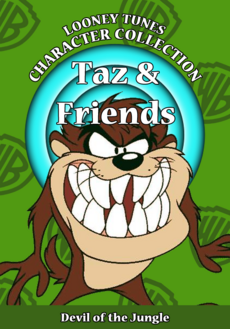 Looney Tunes Character Collection Taz and Friends Cover