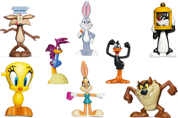 Toys R Us Cartoon Characters : Image mcdonalds brazil happy meal looney tunes toys