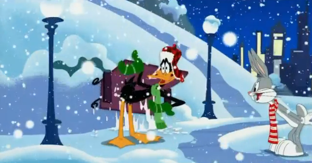 File:Daffy & Bugs - Christmas Rules.png
