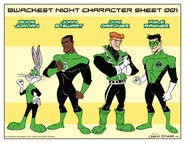 Looney lanterns the web comic line up 001 by charlesettinger-d6bsn6r