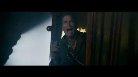 Arnold Schwarzenegger I'M BACK! - The Expendables 2
