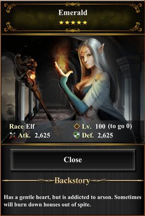 Card - Emerald-max