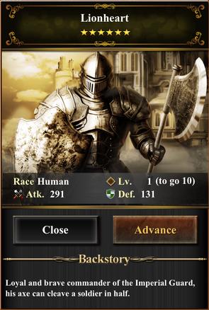 Card - Lionheart