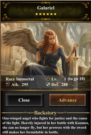 Card - Galariel