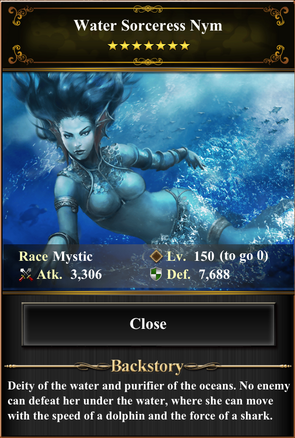 Water Sorceress Nym