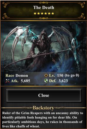 Card - The Death-max