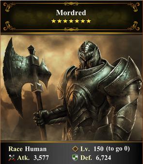 Card - Mordred