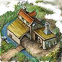 Lou building toolmakers hut