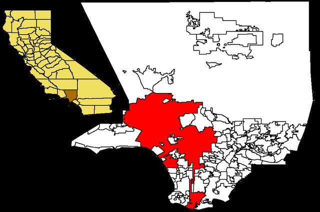 File:LA in LA County map.png