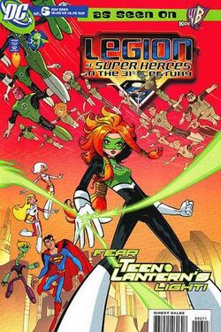 300px-Legion of Super-Heroes in the 31st Century Vol 1 6