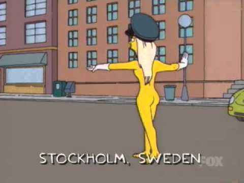 Imagen - Police Naked Sweden Woman.jpg   Simpson Wiki en