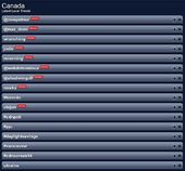 @zoiepalmer trended Twitter 03-09-2014 (Trendsmap Canada)