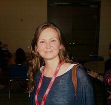 Michelle Lovretta (SDCC 2011)