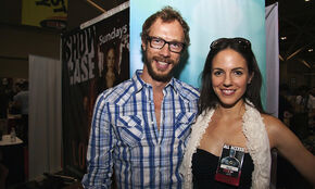 Anna Silk and Kris Holden-Ried (Fan Expo 2010)