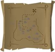 Map clue South-eastern Varrock Mine