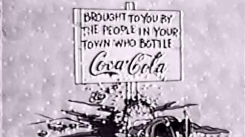 A Charlie Brown Christmas 1965 Coke sponsor promo-1