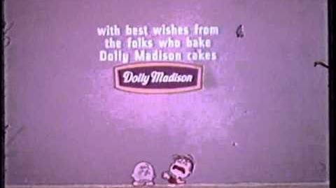 It's the Great Pumpkin Charlie Brown 1966 sponsor end credits-0
