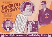 The Great Gatsby 1926