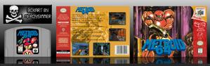 Metroid 64 mock box by neroysimmer