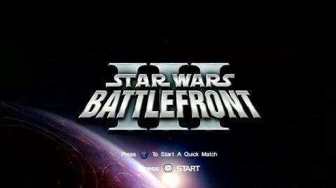 Star Wars Battlefront III Pre Alpha Part 1 - Hoth and Main Menu-0